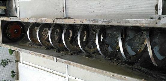 无轴螺旋输送机叶片损坏的原因和解决方案