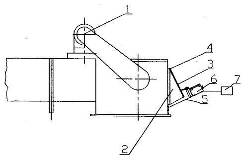 埋刮板输送机防堵装置