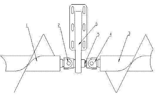 螺旋输送机十字轴式万向联轴传动装置